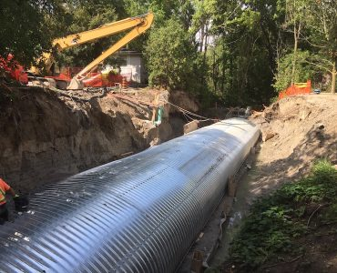 Brookland Avenue Reconstruction and Culvert Replacement