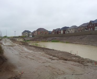 Detention Basin and Earthworks (Residential Subdivision)