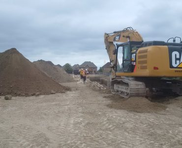 Excavation and Site Services (Canadian Tire)