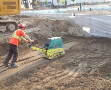 Site Services and Grading for Proposed Industrial Unit